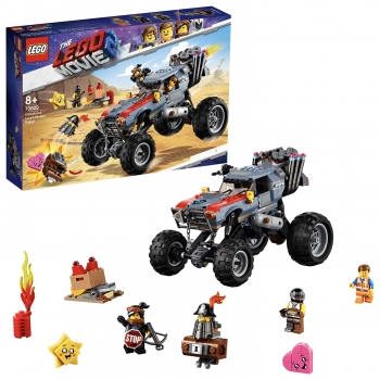 Lego Movie 2 - Emmet and Lucy's Escape Buggy, 550 Pcs