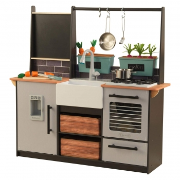 Play Kitchen with EZ Kraft Assembly