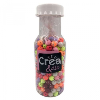 Colourful Pearls in a Bottle