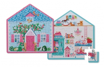 Little House Two Sided Puzzle
