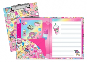 Planet Sweets Stationery Clipboard Set