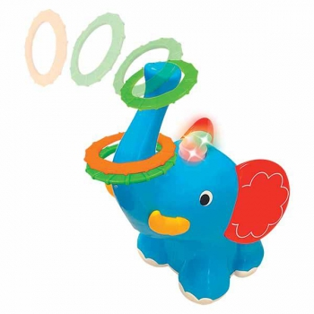 Elephant with Rings