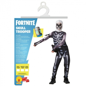 Skull Trooper Adult Costume Size XL 9-10 Years
