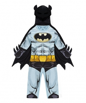 Batman Dress Up Costume with Mask - 5-6 years