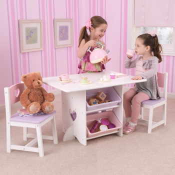 Heart Table and Chair Set