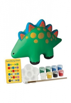Paint Your Own Dino Bank