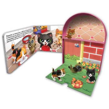 Mini Comptines and figurines - Cute kittens