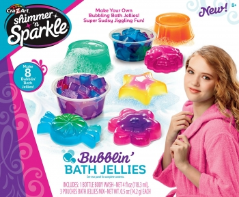 Shimmer and Sparkle Make Your Own Bubblin Bath