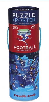 Puzzle Poster Football America