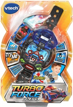Turbo Force Racers Blue- English