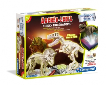 Archéo-Ludic - T-Rex & Triceratops