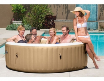 Bubble Massage Pure Spa Inflatable Whirlpool 216x71 Cm