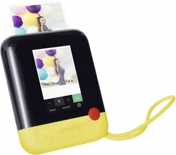 Instant Print-Digital Camera with ZINK - Yellow