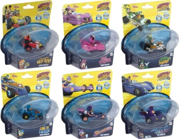 Mickey Roadster Assorted Vehicles