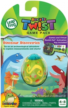 LeapFrog RockIt Twist Game Pack, Dinosaur Discoveries