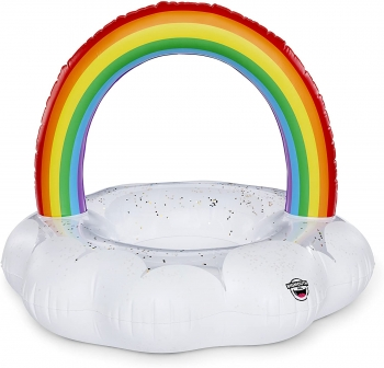 Magical Pool Float with Glitter