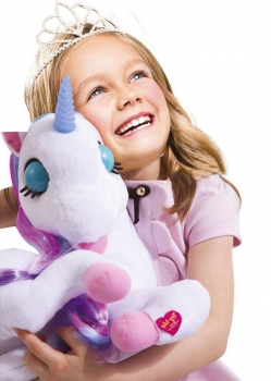 Interactive Luna The Story Teller Unicorn - French