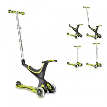 My Free 5 In 1 Scooter Three Wheels Green