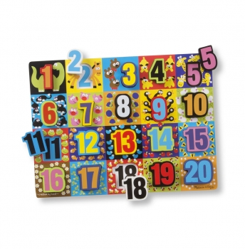 Jumbo Numbers Counting Puzzle