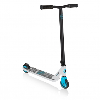 Stunt Scooter GS 360 White & Blue