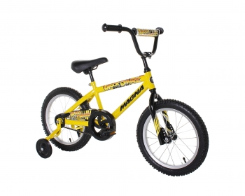 Huffy 16 inch, Kinetic with Training Wheels