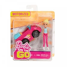 Barbie on The Go Vehicle & Doll - Assorted