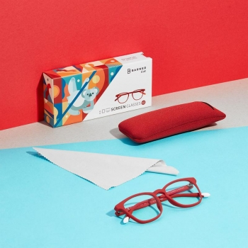 Dalston, Ruby Red - Computer Glasses