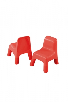 Plastic Chair Red