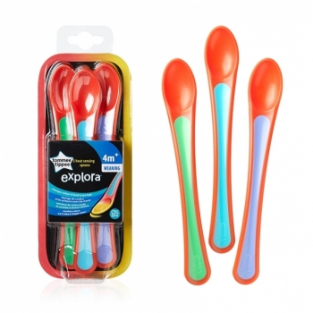 Explora Weaning Spoons with Thermo-Sensor