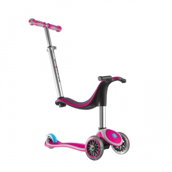 4In1 Scooter Translucent / Light Gray