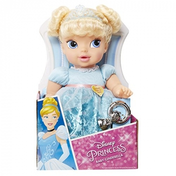 Disney Princess Deluxe Doll with Pacifier - Assorted