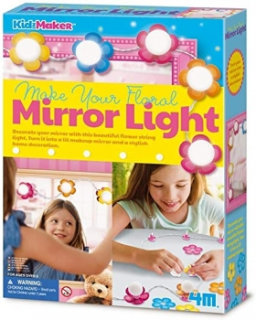 Make Your Floral Mirror Light