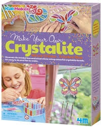 Make Your Own Crystalite Wind Chime Trinket Box