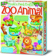 Mould And Paint  Zoo Animals