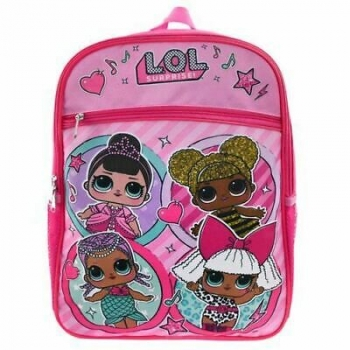 L.O.L Surprise - 16'' BackPack Four Friends with Front Pocket