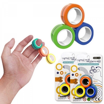 Stress Relief Magnetic Rings