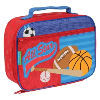 Classic Lunch Box, Red Sports