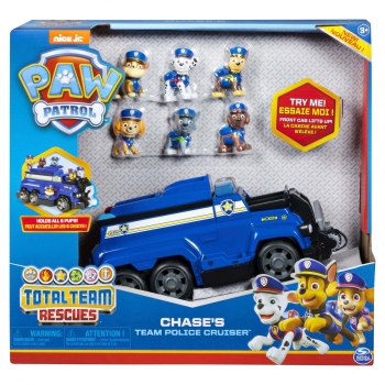 PAW Patrol, Chase's Total Team Rescue Police Cruiser
