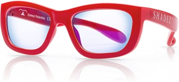 Shadez, Blue Light Filter Glasses - Red Teeny ( 7-16 Years)