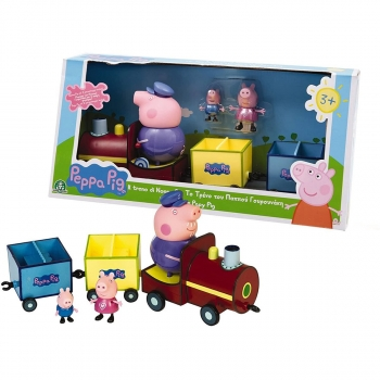 Peppa Pig Train With 3 Figures