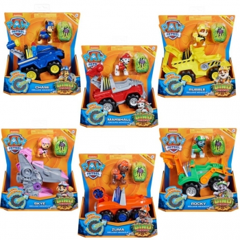 Dino Rescue Deluxe Rev Up Vehicle, Assorted