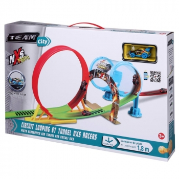 Circuit Looping Et Tunnel NXS Racers
