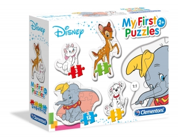 My First Puzzle Classic Animals 4 In 1