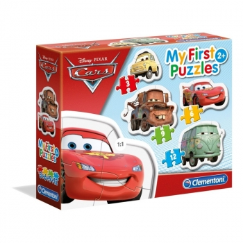 My First Puzzle Cars 3, 3-6-9-12 Pcs