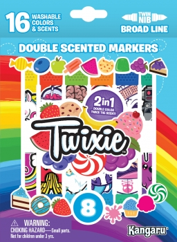 TWIXIE® 16 Scented Double Ended Broadline Markers