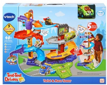 Toot-Toot Drivers Twist & Race Tower Playset