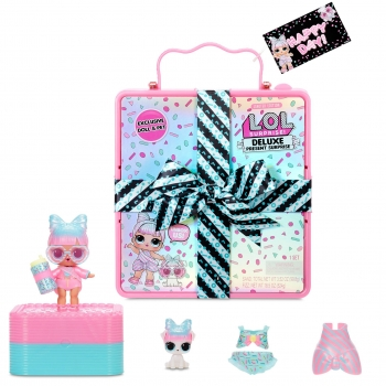 L.OL. Surprise Deluxe Present Surprise with Limited Edition Sprinkles Doll