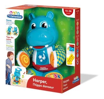 Harper The Dancing Hippo - French