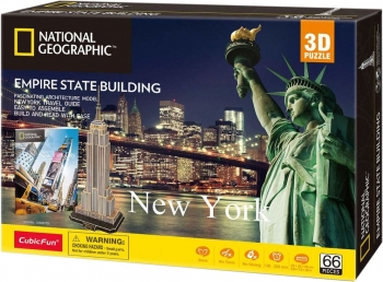 Cubic Fun - National Geographic - Empire States Building