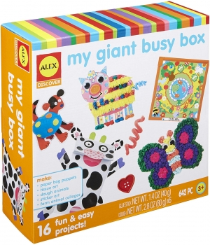 Discover My Giant Busy Box